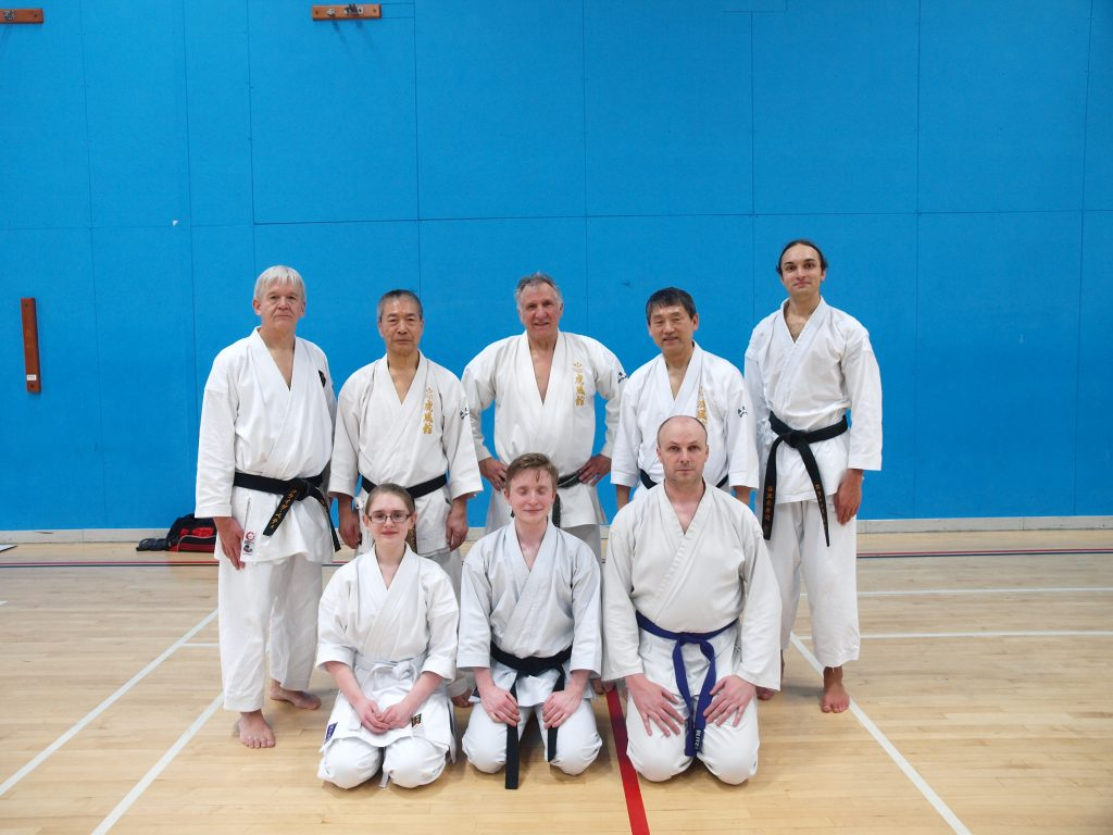 Lincoln Members with Masters Tomiyam & Omia